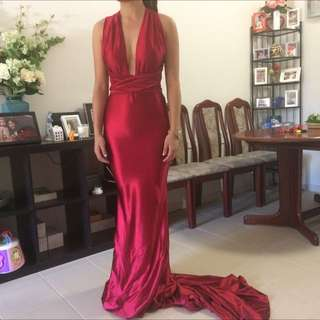 Red Multiway Formal Dress