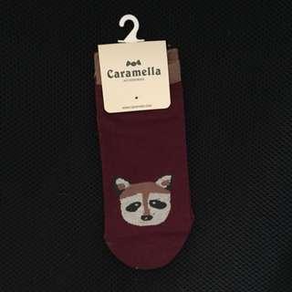 Raccoon Socks