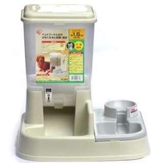 日本IRIS自動餵食器(米白色)