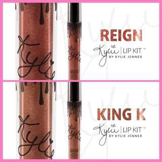 Kylie Lipstick Metal ( Reign And King )