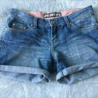Jay jays Booty Shorts