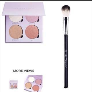 Anastasia Glow Kit - SWEETS + Anastasia A23 Brush