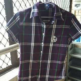 Olivo經典格紋襯衫