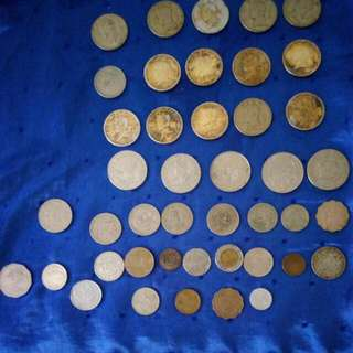 Old Coins And Bills