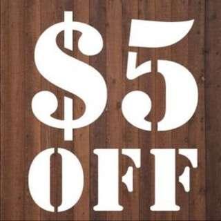 $5 Off Everything!! 🎉 Everything Must Go!