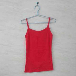 (NEW) Red Basic Tank-top