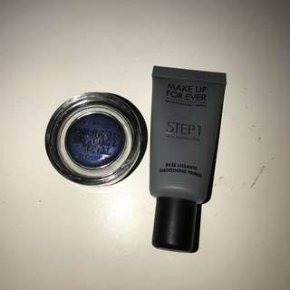 Loreal Eye Shadow And Make Up Forever Primer