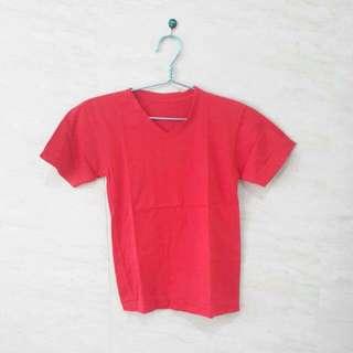 (NEW) Red Basic T-Shirt