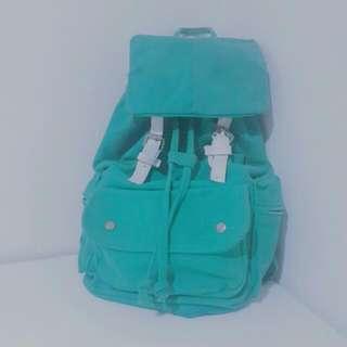 降價⬇ 免運 綠色 束口 後背包 #我有後背包要賣
