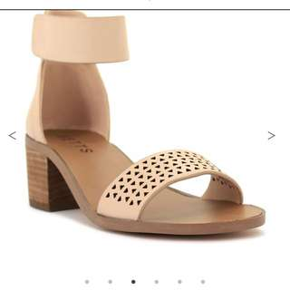 Nude Casual Heels
