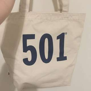Authentic Levi's Canvas Bag