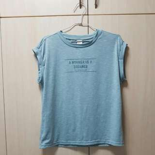 Lalu Turquoise Top Size L $5mailed