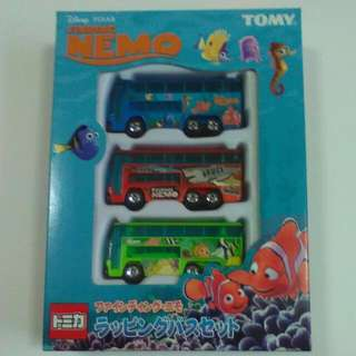 Tomica Limited Edition Nemo Bus Set