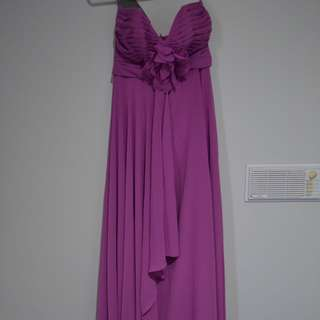NEW Spurling Long Formal Dress Purple AU6
