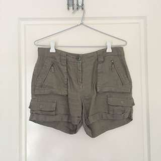 Country Road Linen Shorts