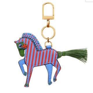 TORY BURCH Harry The Horse Key Fob