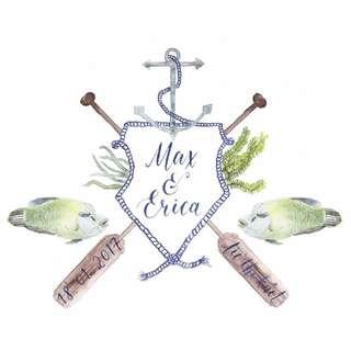 Wedding crest / Family Crest