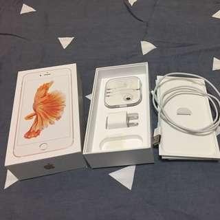 二手APPLE iPhone 6s Plus 64G玫瑰金(保固至2017/7)