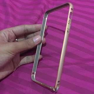 bamper case iphone 5/5s gold