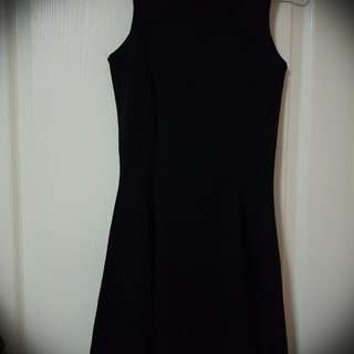 BN Cotton On Black Skater Dress