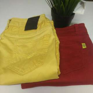 pants (skinny) to letgo 2pcs for rm30 each rm20