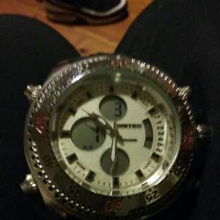 BISTEC WATCH MENS BRAND NEW NEVER WORN $800 Watch