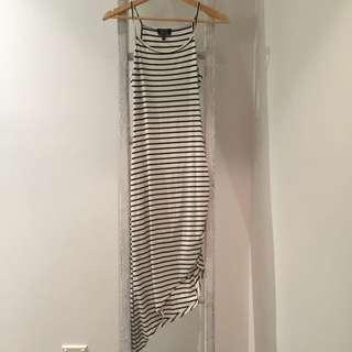Striped Midi-Dress