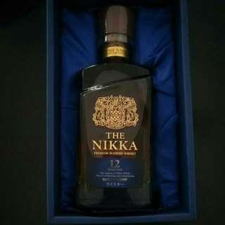 The Nikka 12 Years Premium Blended Whiskey