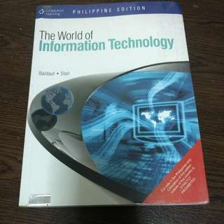 The World Of Information Technology
