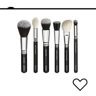 Classic Zoeva Face Brush Set