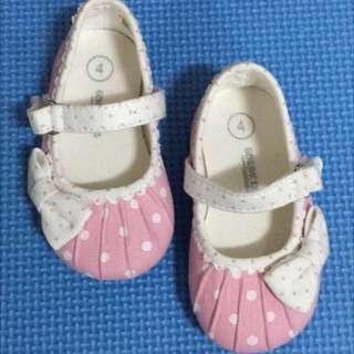 Oshkosh Pink Polkadots Shoes