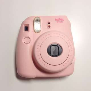 [ON HOLD] NEGOTIABLE Pink Instax Mini 8 (comes with film!)