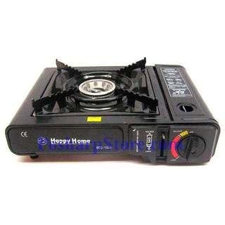 Happy Home Portable Stove Butane Gas Cooker with Attache-case