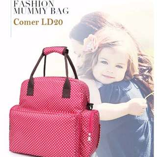 Cheapest you can find - 2016 Comer - Fashionable Diaper Bag LD20