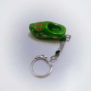 鑰匙圈 綠色