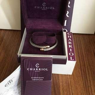 Charriol Bangle (Rose gold)