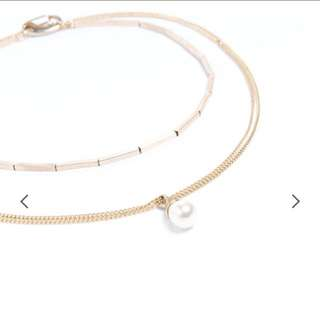 Pazzo氣質多層次珍珠項鍊