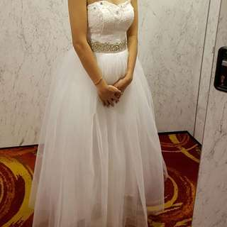Price Reduced Wedding Gown 2 In 1
