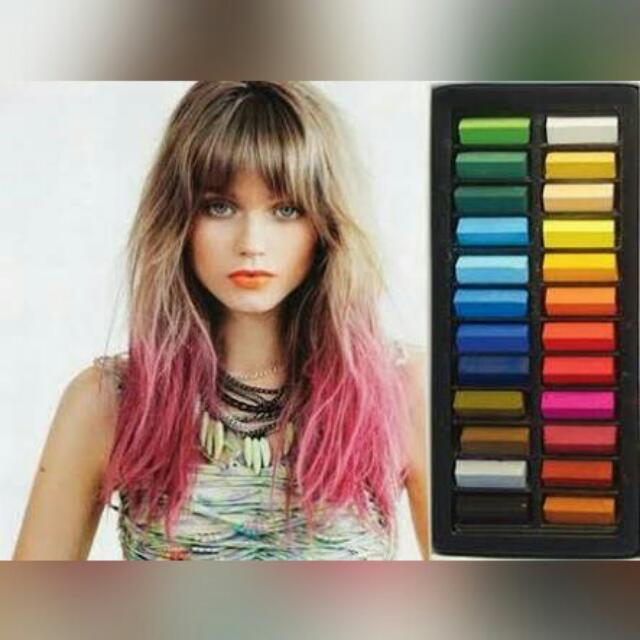 24 Mini Hair Chalks