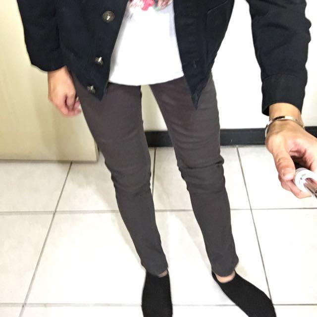 韓版窄款褲