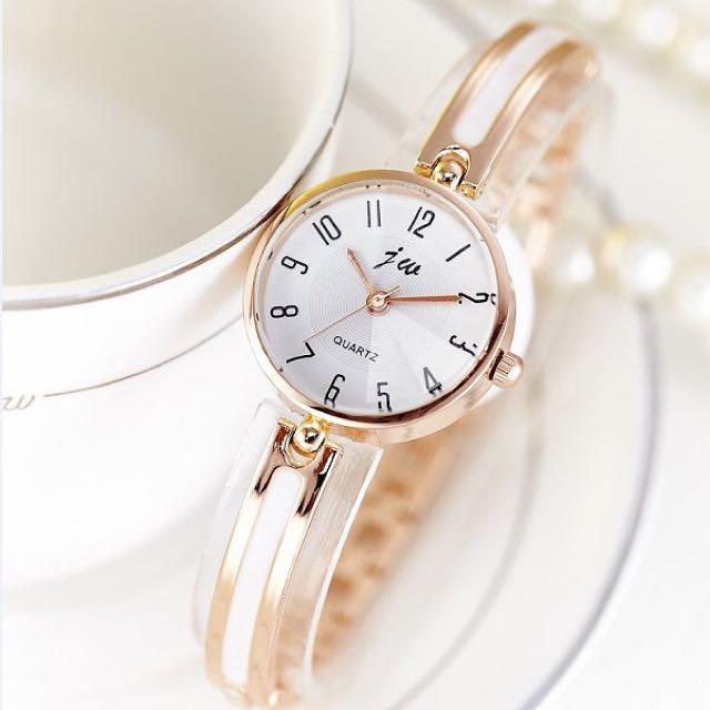 全新韓版氣質精緻手錶手鍊款女錶,便宜出清!