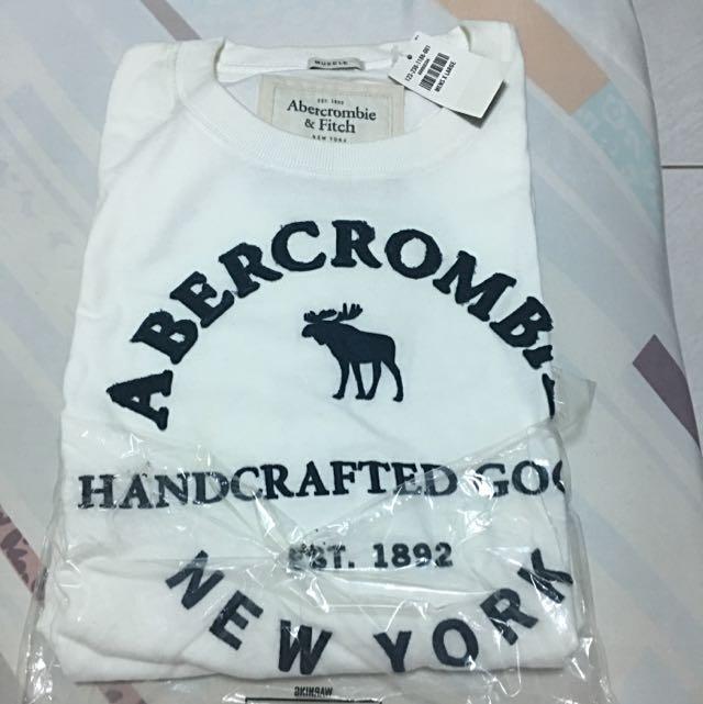 (全新含運)A&F美國購回短袖上衣
