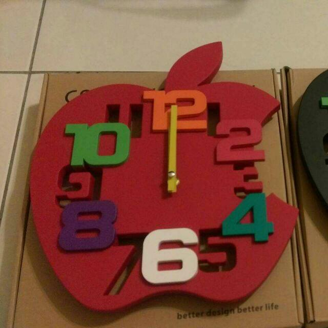 Apple 時尚造型時鐘
