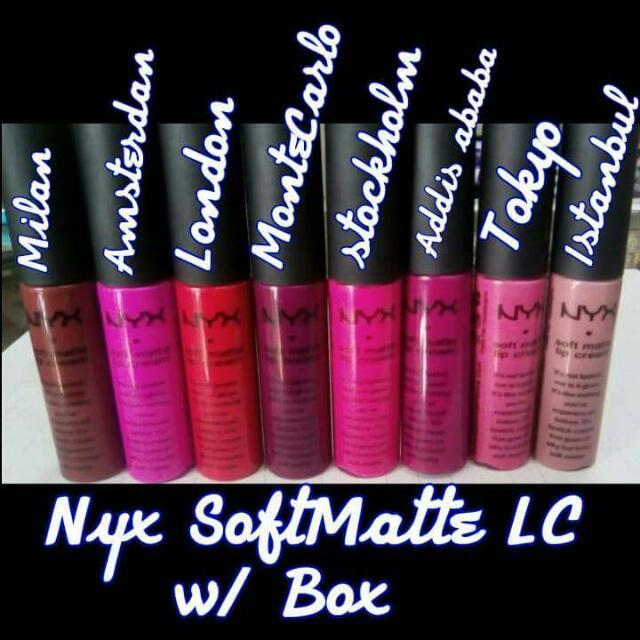 Assorted Lip Cream And Lipstick