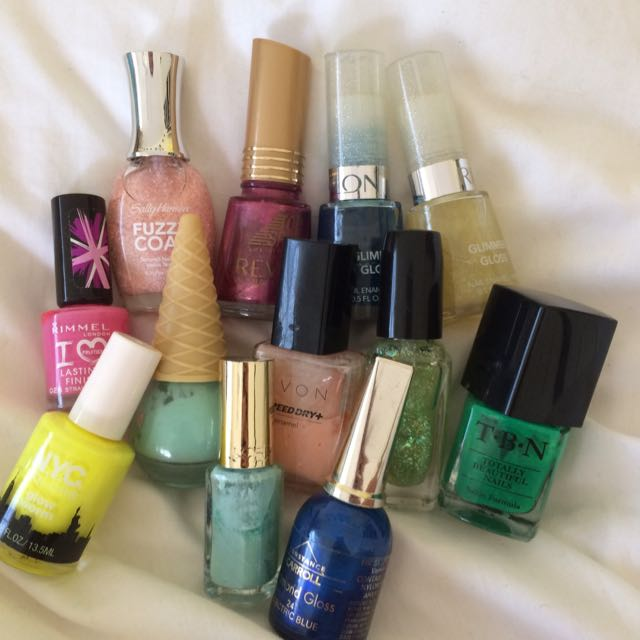 Assortment Of Nail polish