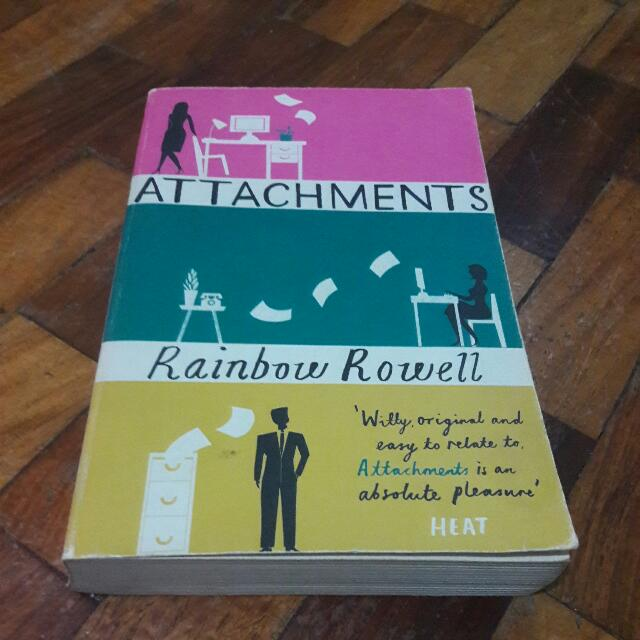 RESERVED: Attachments By Rainbow Rowell