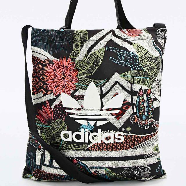f6797b604df authentic Adidas Originals jungle print sling tote bag, Women's ...