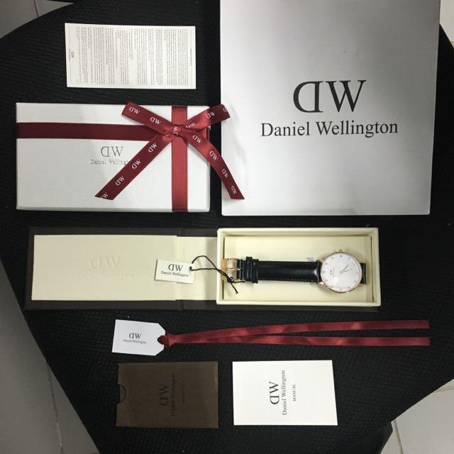 Authentic Daniel Wellington Sheffield 34mm Swarovski Dial