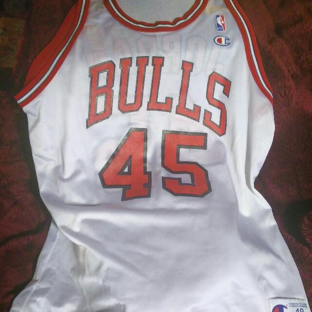 Authentic Jordan Bulls Jersy