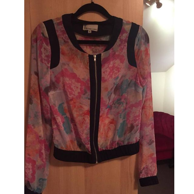 Bettina Liano Light Jacket Size UK6/EU34